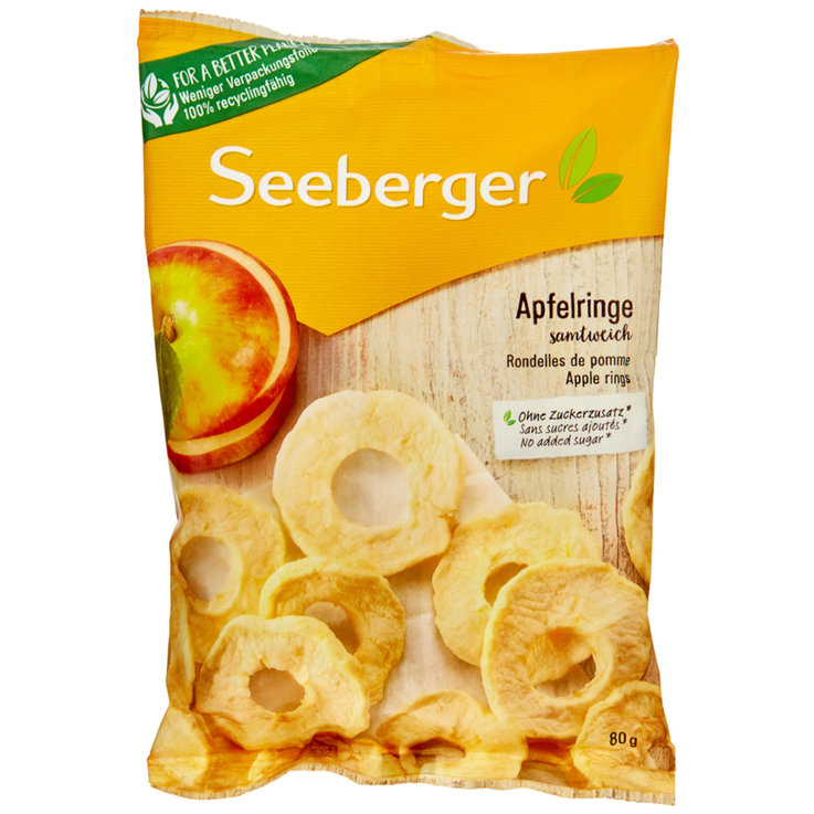 Dried Fruit - Seeberger Dried Apple Rings