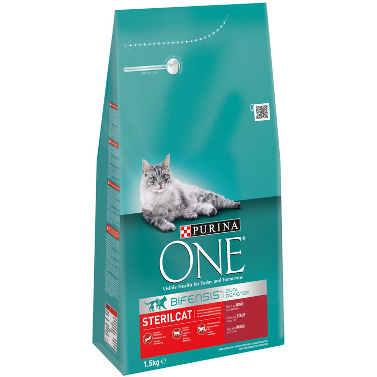 Dry Food - One Sterilcat Beef & Wheat Dry Cat Food