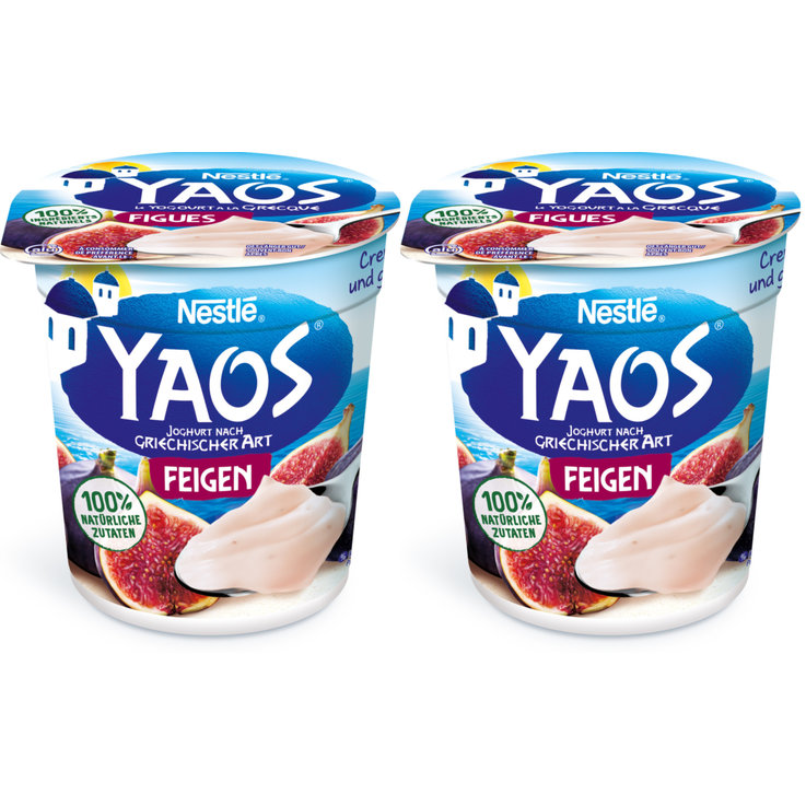 Exotic & Citrus Fruit - Yaos Fig Greek Yoghurt 2x150g