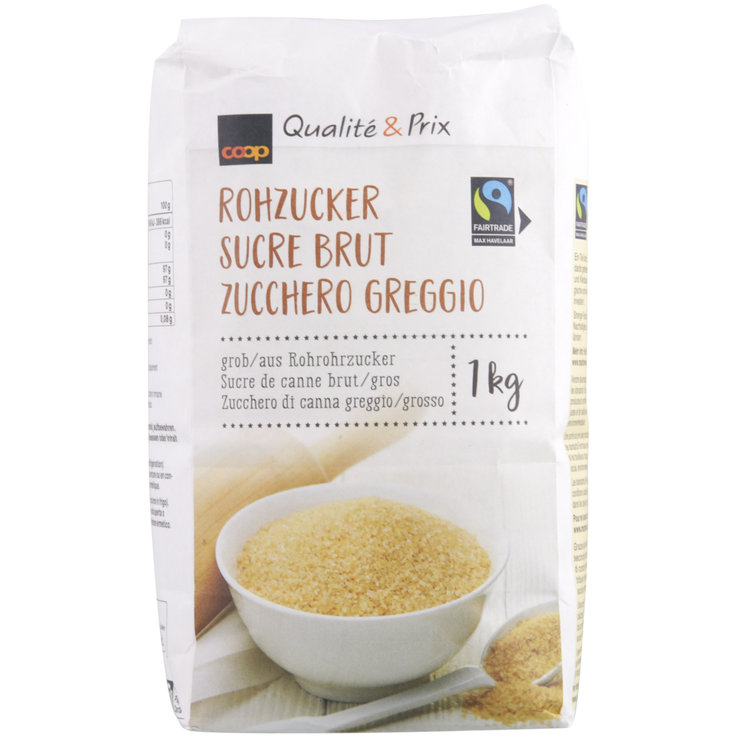 Sucre & Sucre de canne - Fairtrade Sucre brut gros grains