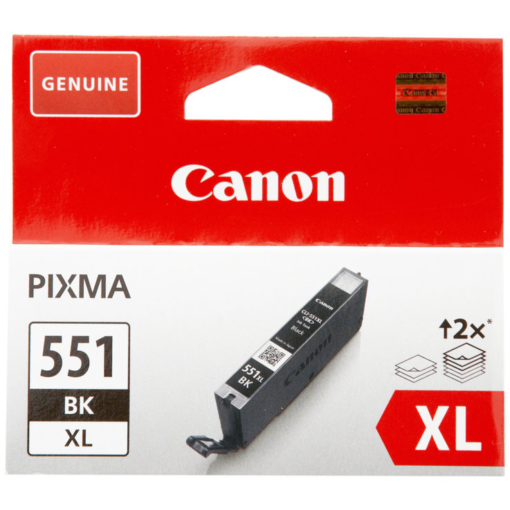 Canon - Canon CLI-551 XL-BK Black Ink Cartridge