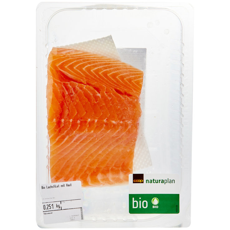 Packaged Fresh Fish - Naturaplan Organic Salmon Fillet 1 Piece ca. 250g