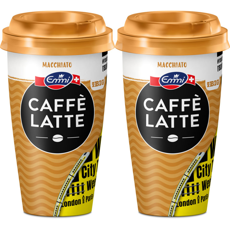 Café & Chai Latte - Emmi Caffè Latte Mr. Big Macchiato 2x  370ml