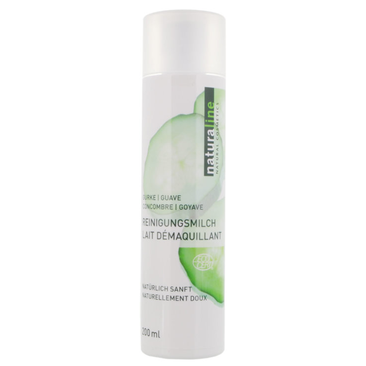 Facial Cleanser & Tonic - Naturaline Cucumber Guava Cleansing Milk