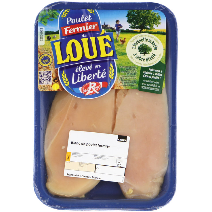 Poultry - Chicken Escalope 2 Pieces ca. 280g