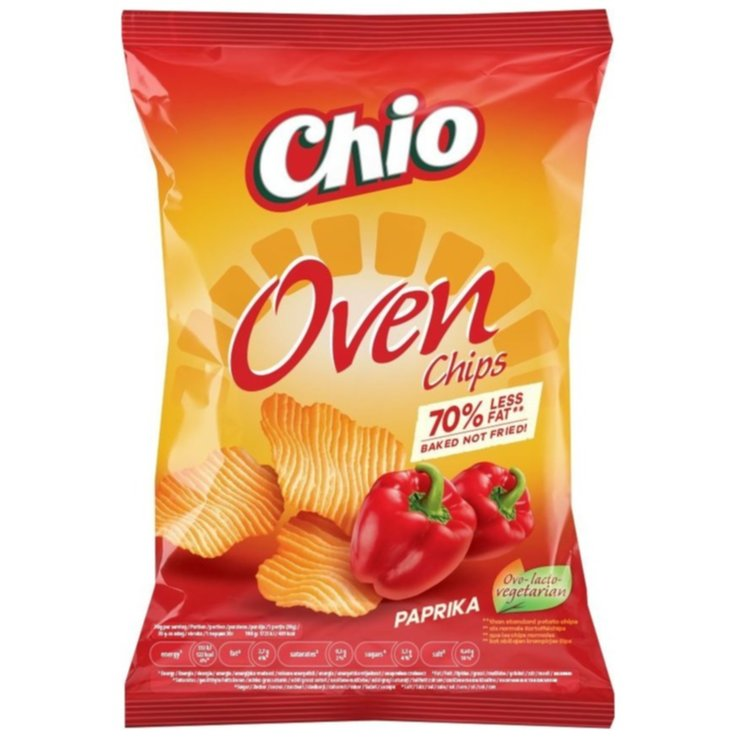 Paprika & Chili Chips - Chio Ovenchips Paprika 150g