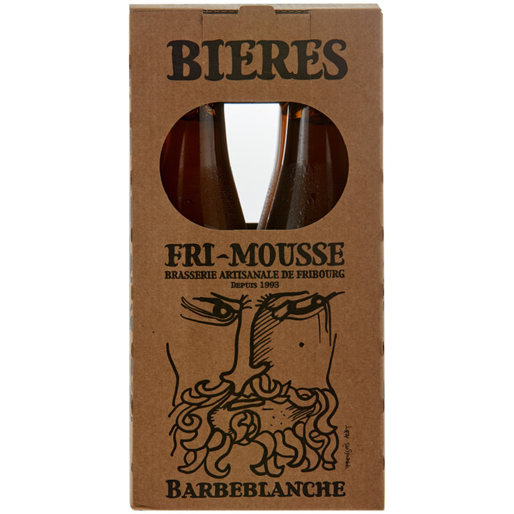 Beer Multipacks - Fri-Mousse Barbeblanche Beer 4x33cl