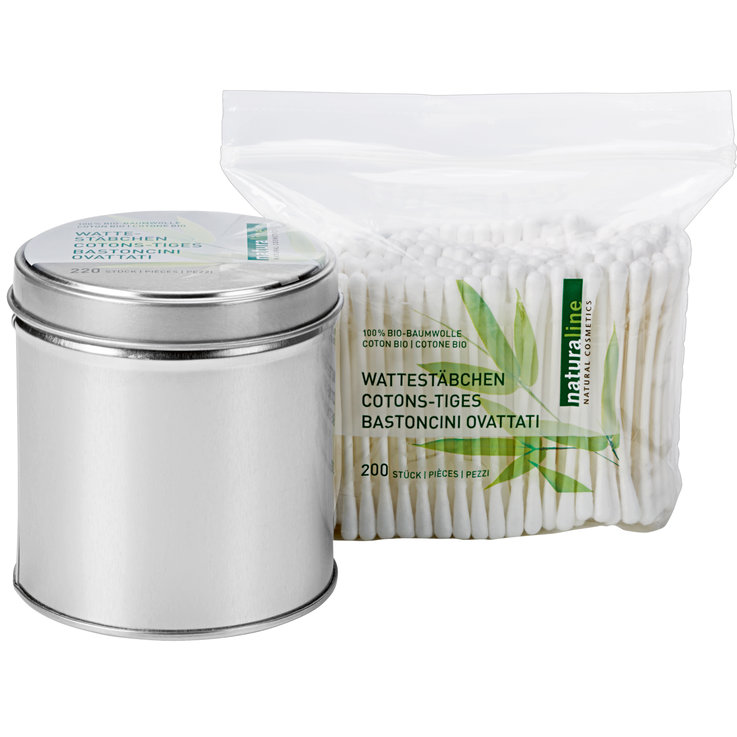 Cotton bud - Naturaline Cotton Swabs with Refills 420 Pieces