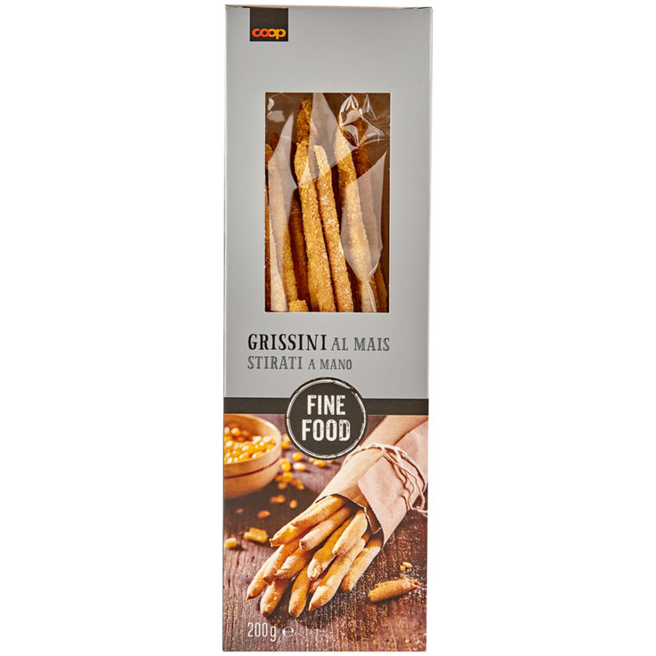 Grissini & Special Pastries - Fine Food Corn Stirati Grissini