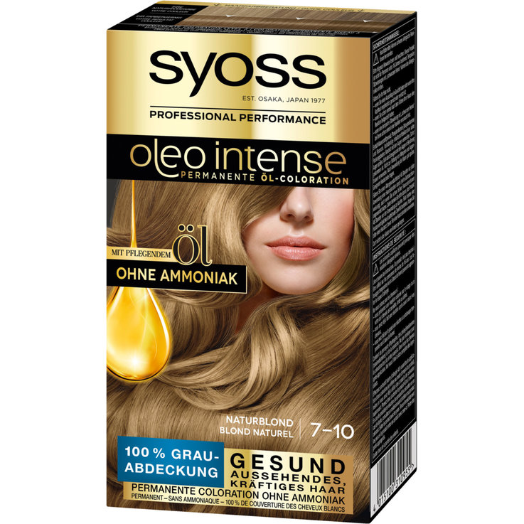 Blondes - Syoss Oleo Intense Natural Blond 7-10 Hair Dye