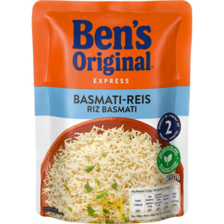 Basmati & Parfum - Uncle Ben's Express Basmatireis