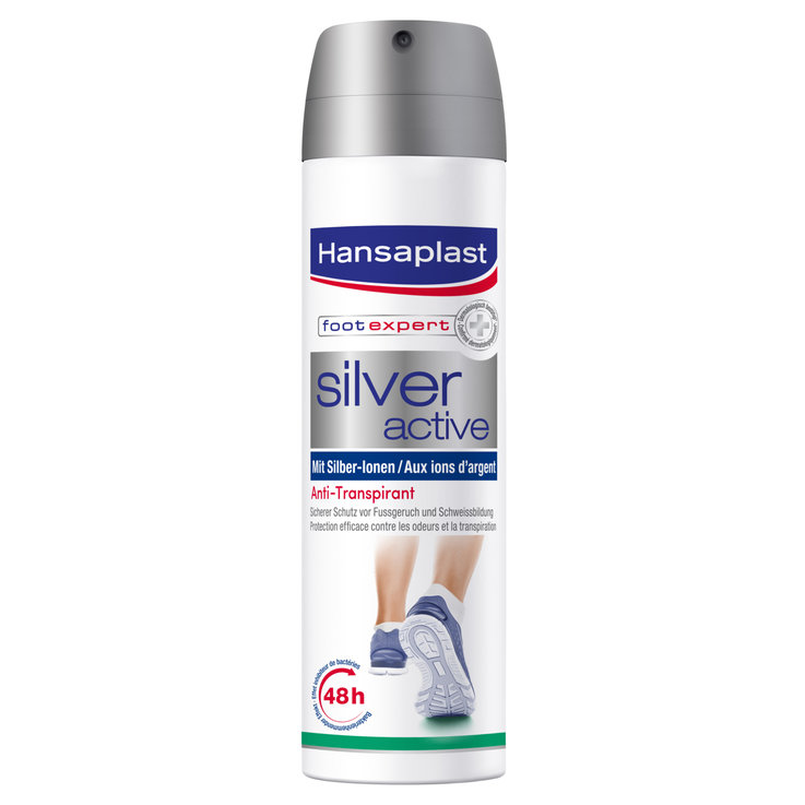 Feet - Hansaplast Silver Active Foot Spray