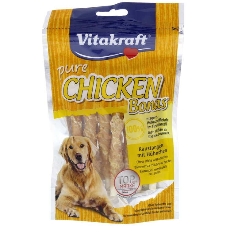Chicken - Vitakraft Bonas Chicken Flavoured Dog Snacks
