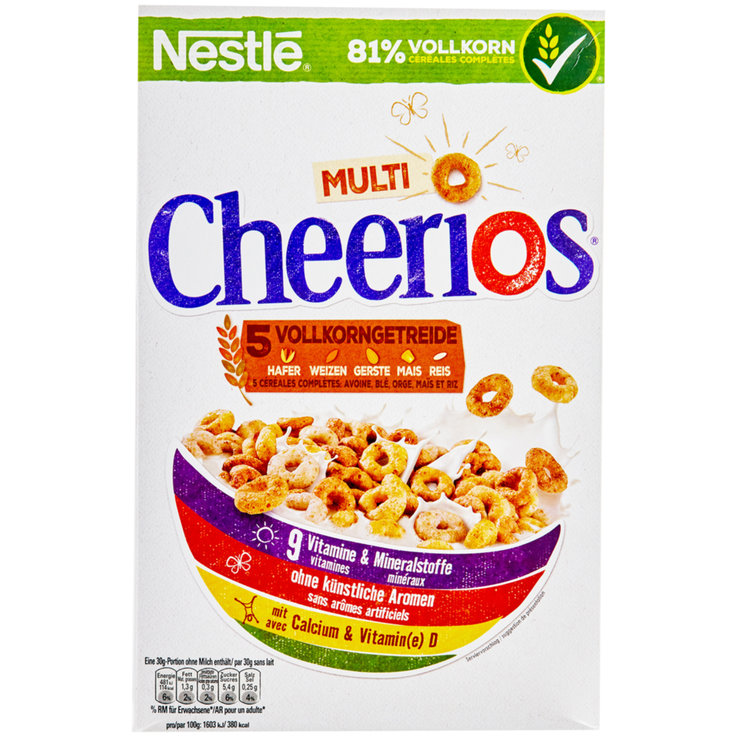 Cereali - Nestlé Cereali Cheerios multi cereali