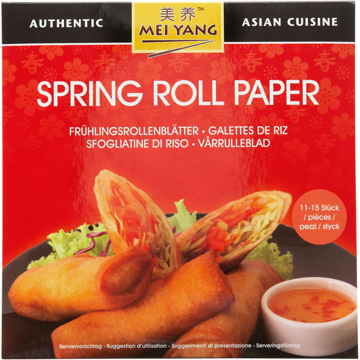 Asian & Indian Meals - Mei Yang Spring Roll Rice Sheets