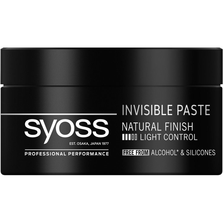 Wachs - Syoss Invisible Hold Paste