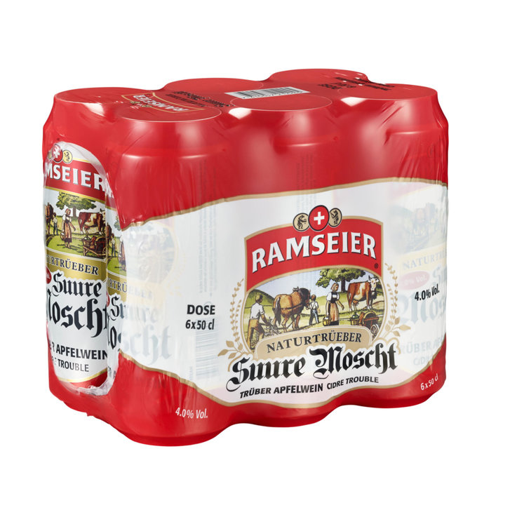 Blended Beer & Cider - Ramseier Special Apple Cider 6x50cl