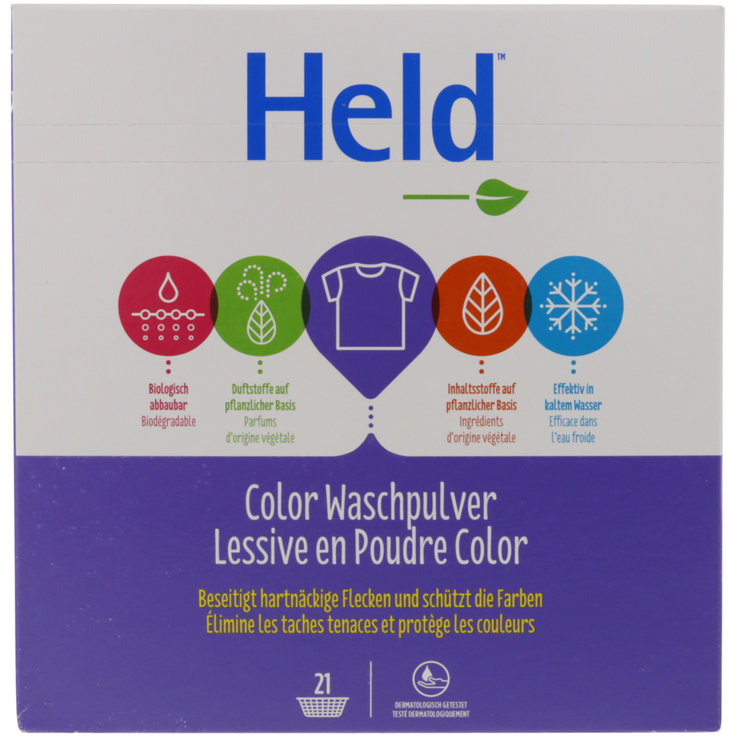 Colour - Held eco Colora Laundry Detergent Powder 21 Loads