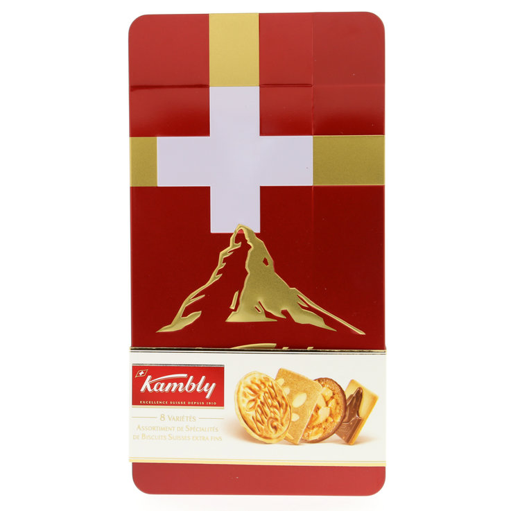 Cookies without Chocolate - Kambly Switzerland Cookie Box