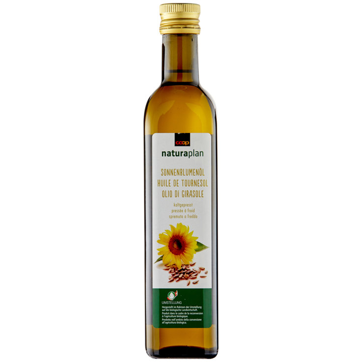 Sunflower & Vegetable Oil - Naturaplan Organic Sunflower Oil