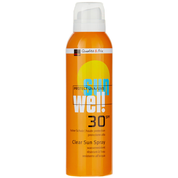 Protection Factor 30 - Wel! Clear Sunscreen Spray SPF 30