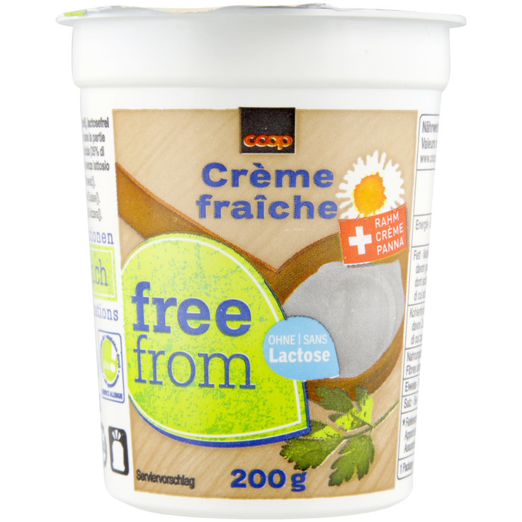 Cream Specialities - Free From Lactose Free Natural Crème fraîche