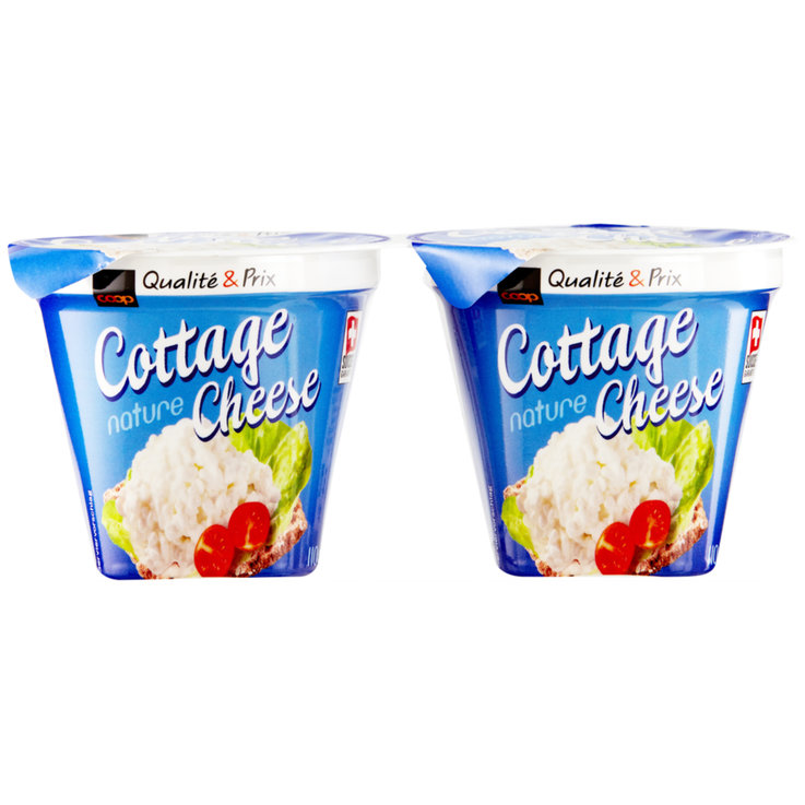 Cottage cheese - Cottage Cheese al naturale 2x110g