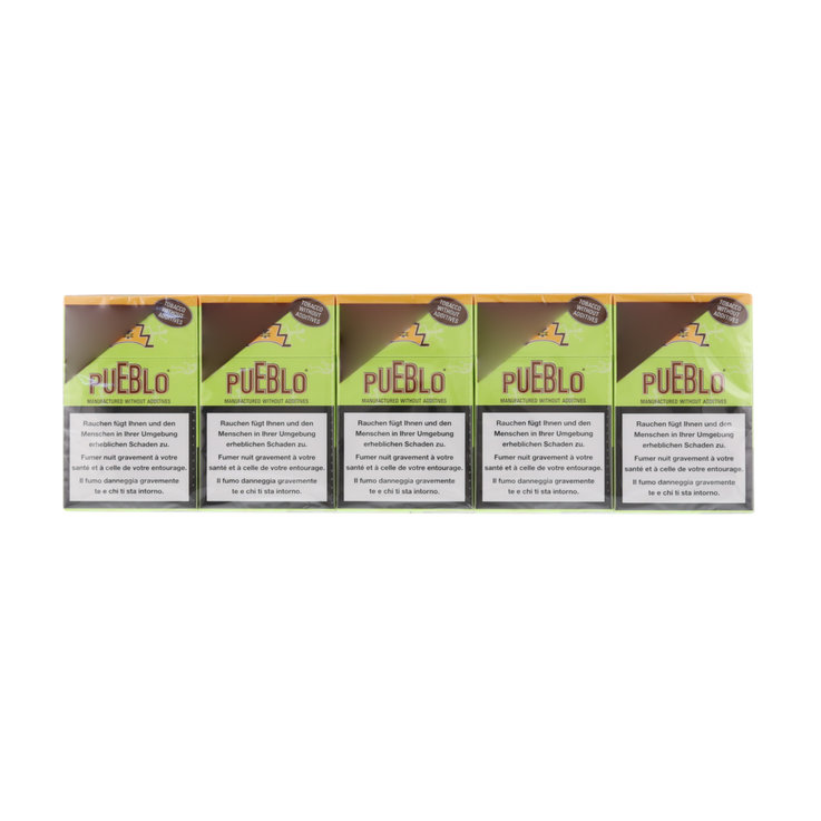 Other - Pueblo Cigarettes Green Box Carton