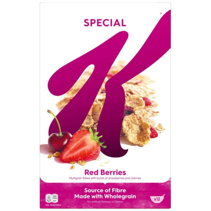 Other Flakes - Kellogg's Special K Cereal with Red Fruit