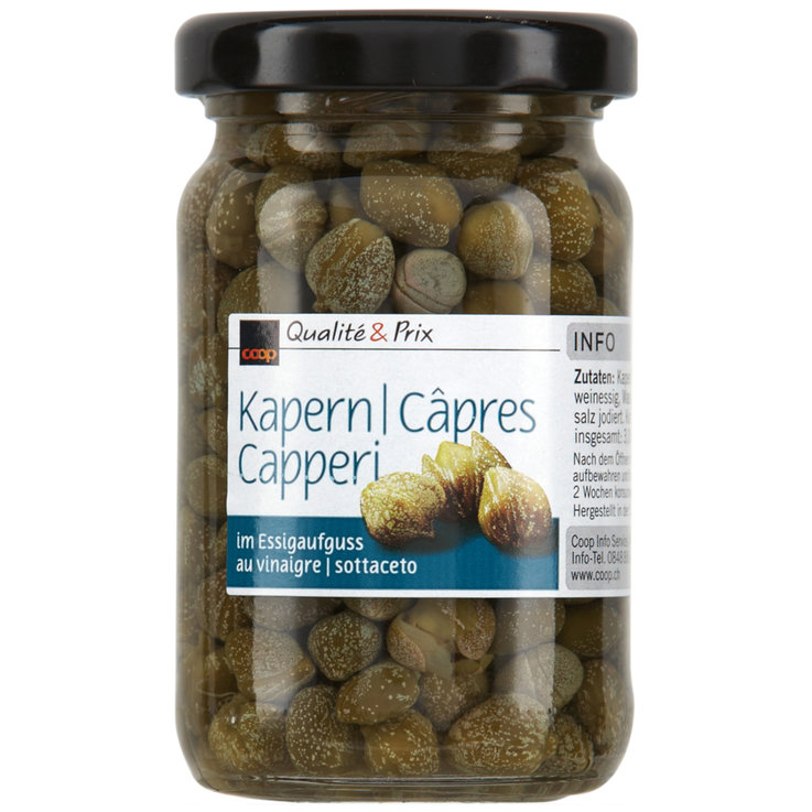Pickled Vegetables - Capers