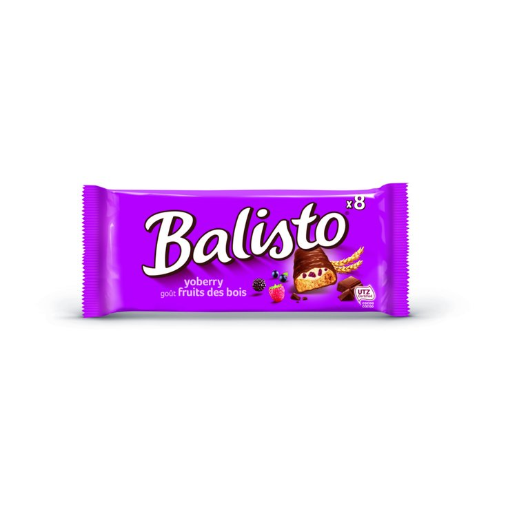 Chocolate Bars - Balisto Yoberry-Mix Cereal Bars 8 Pieces