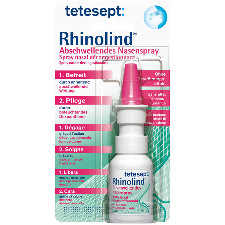 Farmacia - Tetesept Rhinolind spray nasale