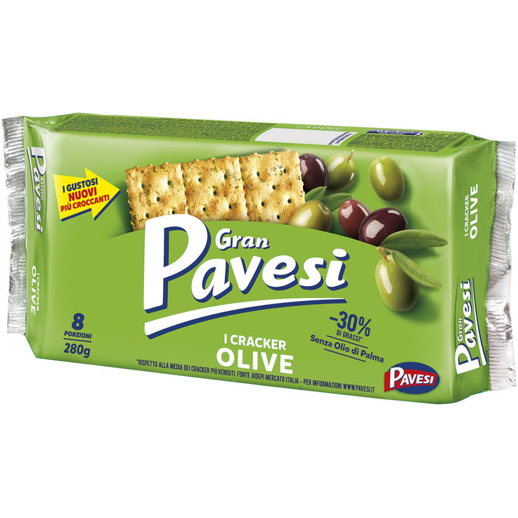 Crackers - Gran Pavesi Olive Crackers