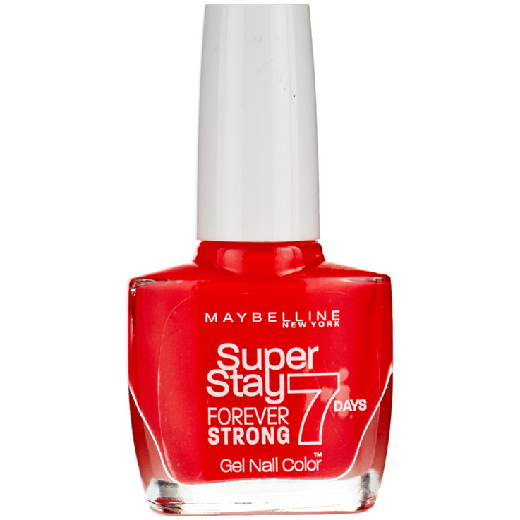 Nails - Maybelline Forever Strong 490 Hot Nail Polish