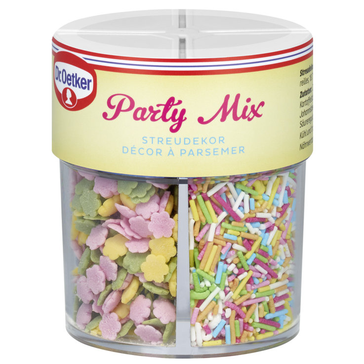Decorations & Lettering - Dr. Oetker Party Mix Assorted Sprinkles