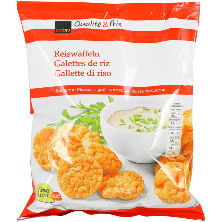 Rice Cakes - Paprika Flavoured Rice Cakes