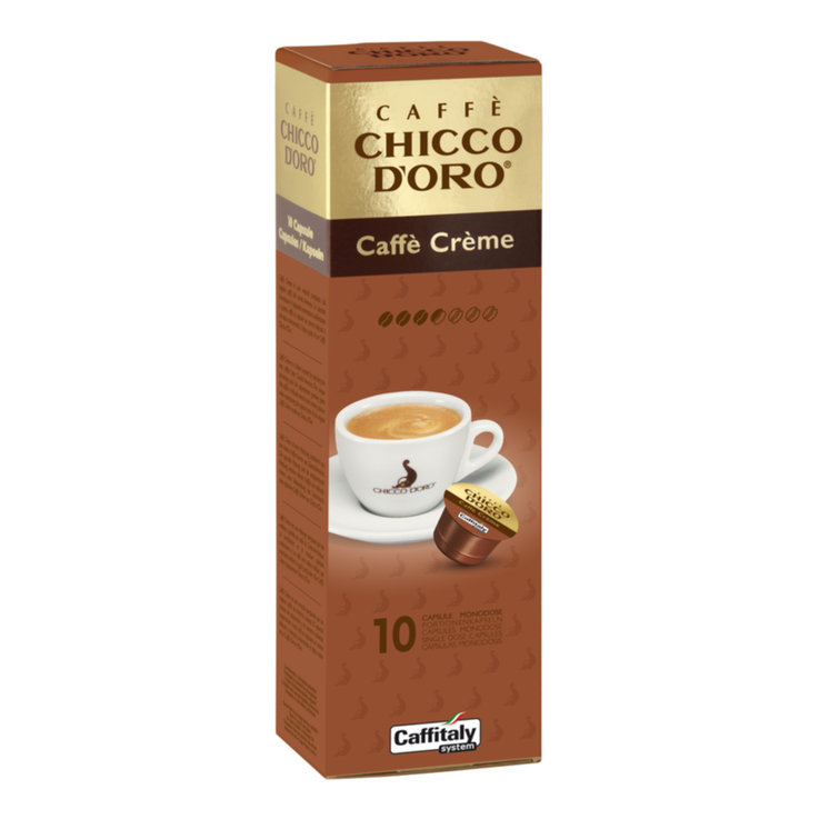 Other Systems - Caffè Chicco d'Oro Caffè Crème Coffee 10 Capsules