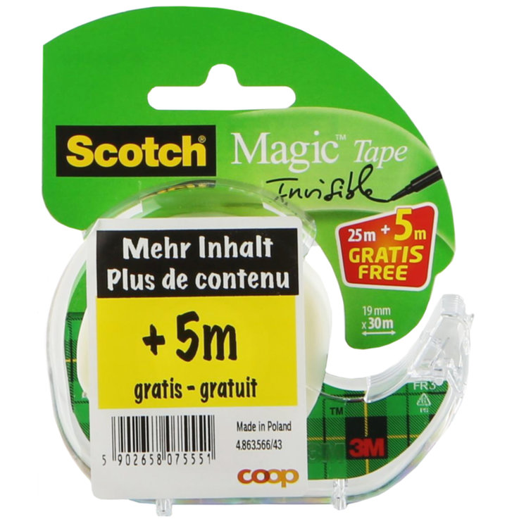 Adhesive tape - Scotch Magic Adhesive Tape 25m