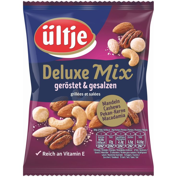 Mixed Nuts - ültje Deluxe Nut Mix