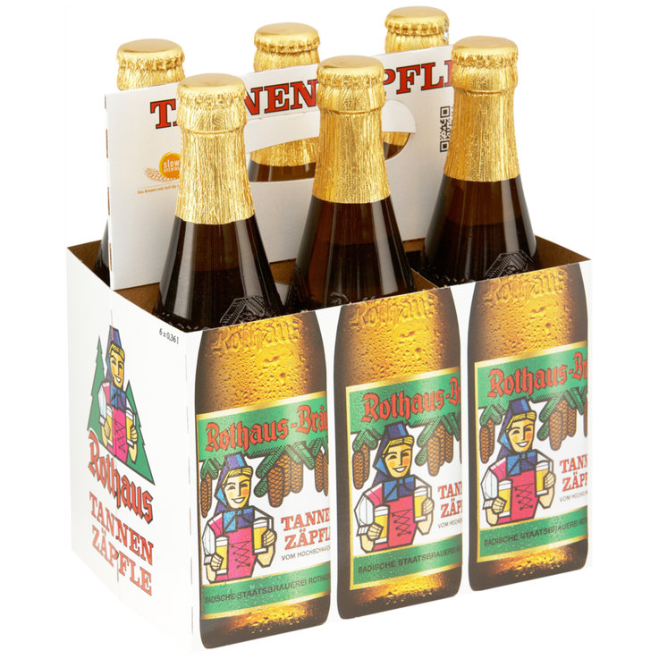Beer Multipacks - Rothaus Bräu Tannenzäpfle Beer 6x36cl