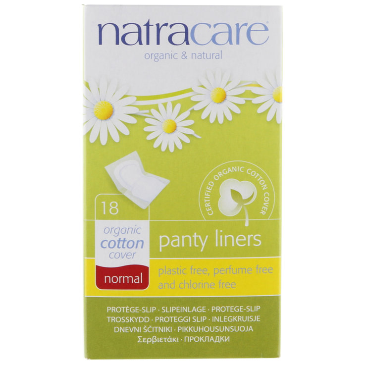Panty liner - Natracare Normal Panty Liners 18 Pieces