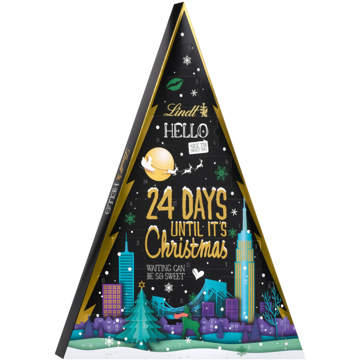 Adventskalender - Lindt Hello Tree Advent Calendar