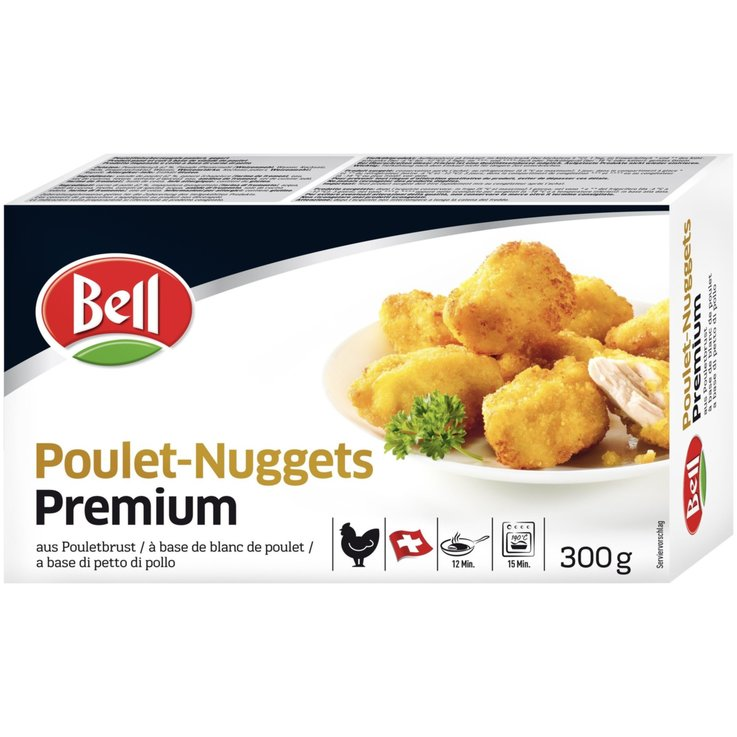 Breaded Meat - Bell Frozen Chicken Nuggets