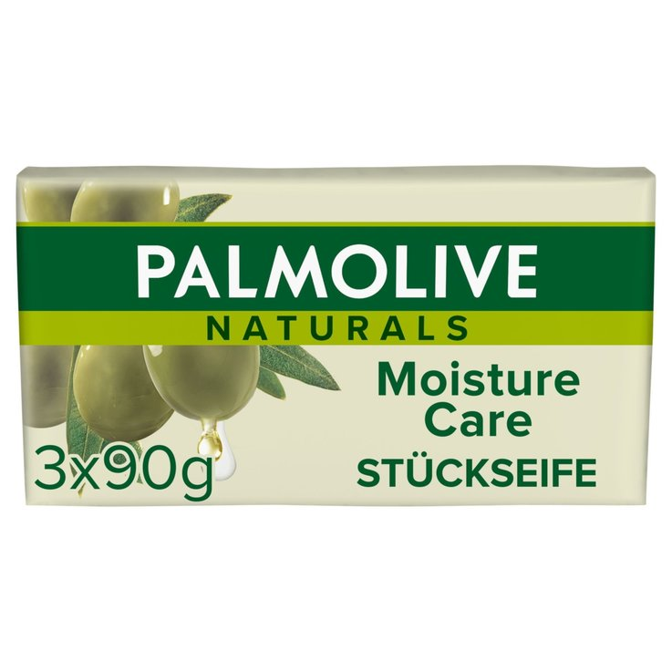Bar Soap - Palmolive Naturals Olive Soap 3x90g