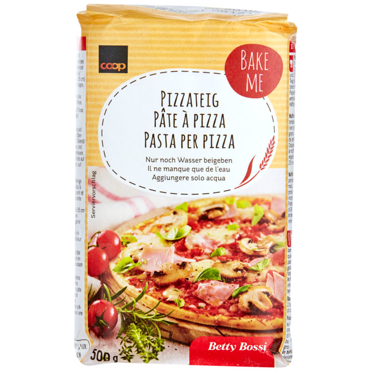 Bread Mixes - Betty Bossi Pizza Dough Mix