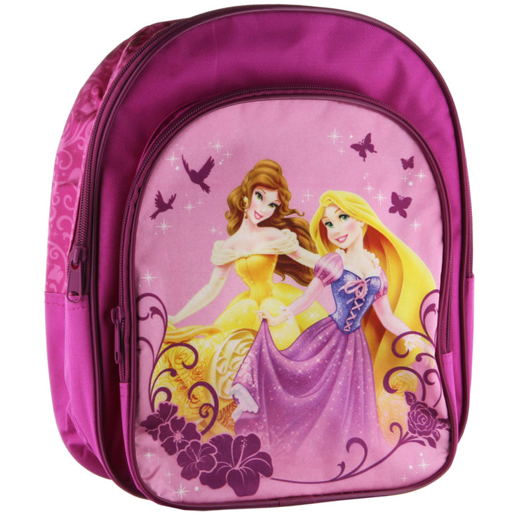 Backpacks & Pencil Cases - Princess Backpack with Pocket