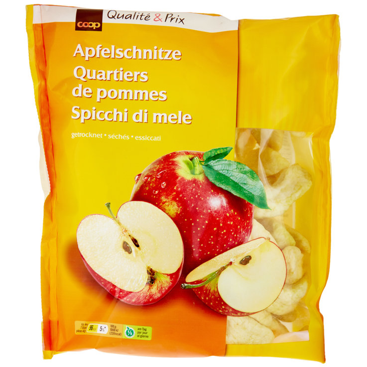 Dried Fruit - Dried Apple Quarters