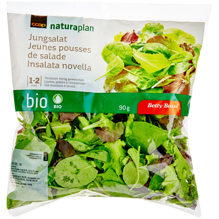 Pre-Packaged Fresh Salads - Naturaplan Organic Young Salad