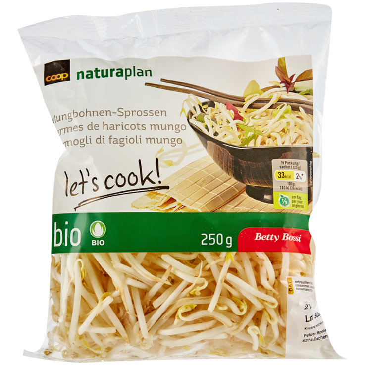Sprouts & Watercress - Betty Bossi Naturaplan Organic Mungo Bean Sprouts