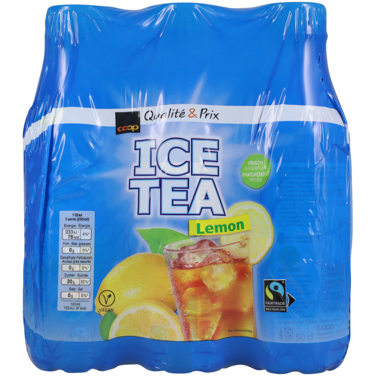 Multipacks unter 1 Liter - Ice Tea Lemon 6x50cl